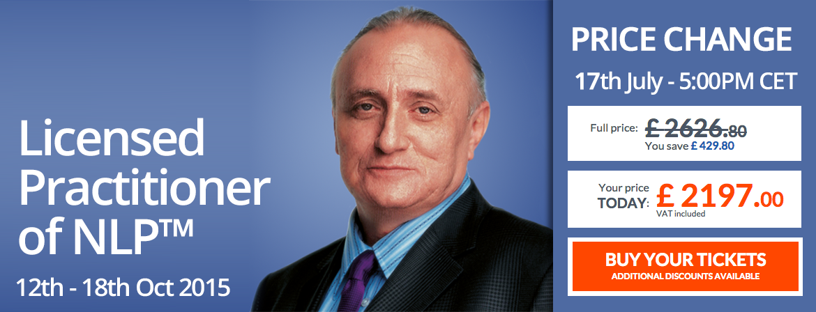 Richard Bandler, Richard Bandlers 7-Day License NLP Practitioner