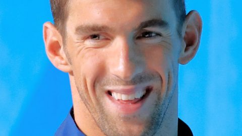 Michael Phelps – Pool Of Gold