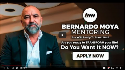 Bernardo Moya launches his new Mentorship programme for 2020