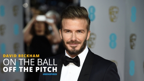 On the ball, off the pitch – David Beckham by The Best You