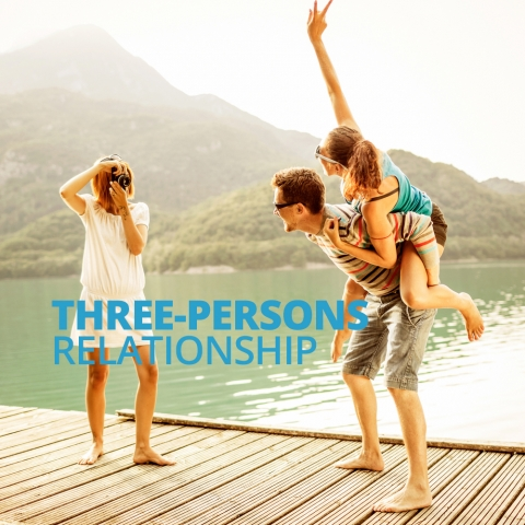 Three-Persons Relationship by Steve Pavlina