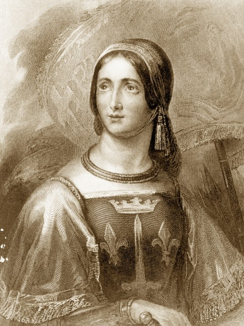 Joan of Arc A leader of royalty