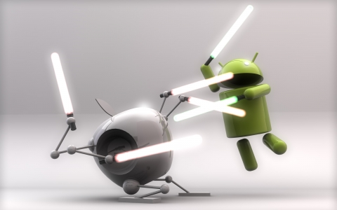 Apple vs. Android by Matt Wingett