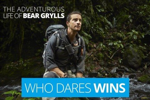 Who dares wins – The adventurous life of Bear Grylls