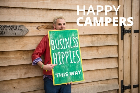 Happy Campers by Laurence McCahill