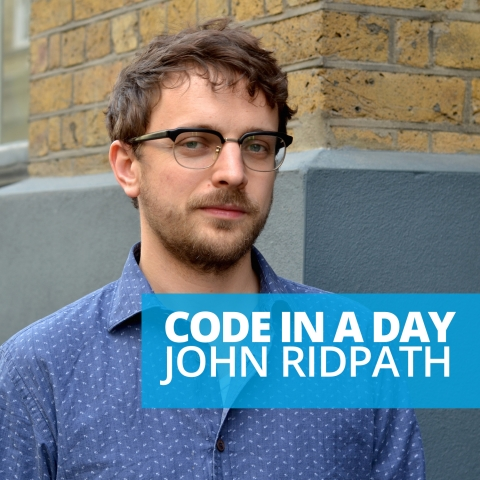 Code In a Day: An interview with John Ridpath