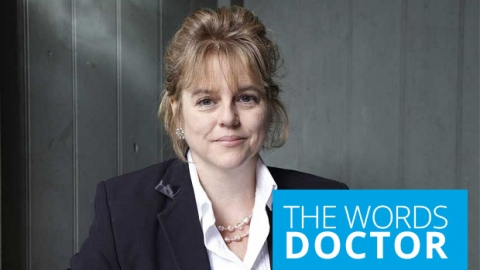 The words doctor by Rachel Kelly