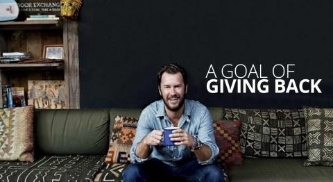 Blake Mycoskie  A Goal of Giving Back