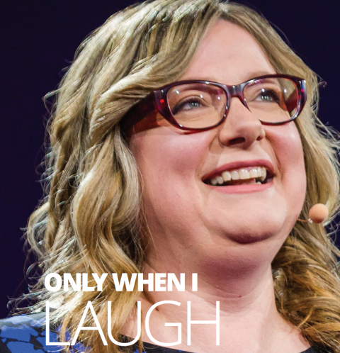 Only when I laugh by Sophie Scott