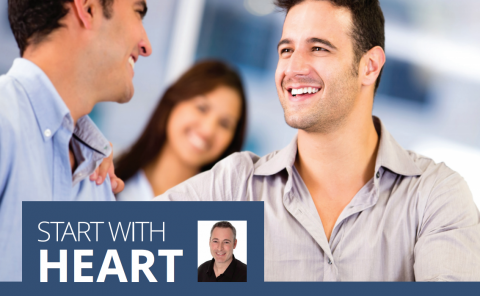 Start with heart- Jim Aitkins