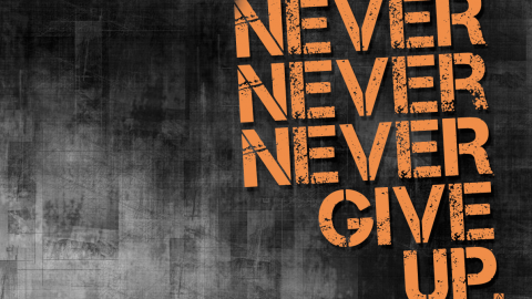 Ever feel like giving up? by Chrisguille Beau