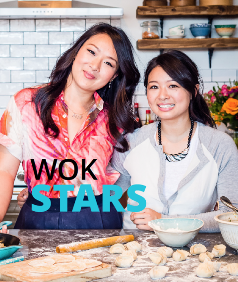 Wok stars by The Dumpling Sisters
