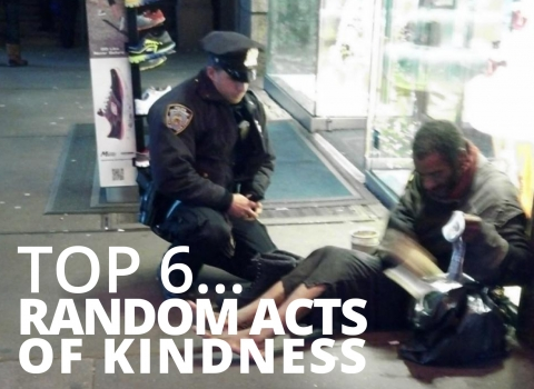 Top 6 Random Acts of Kindness by The Best You