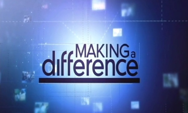 Weekly Inspirer Claire Squires - Making A Difference