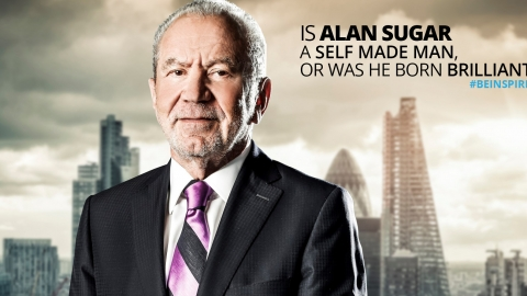 Is Alan Sugar a self made man, or was he born brilliant?