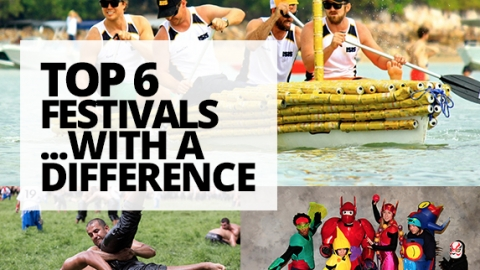Top 6 Festivals with a difference by The Best You