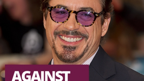 Against all odds – Robert Downey Jr