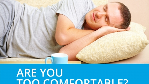 Are you too comfortable? by Bernardo Moya