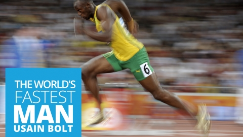 Usain Bolt – The World's Fastest Man by Dr Stephen Simpson