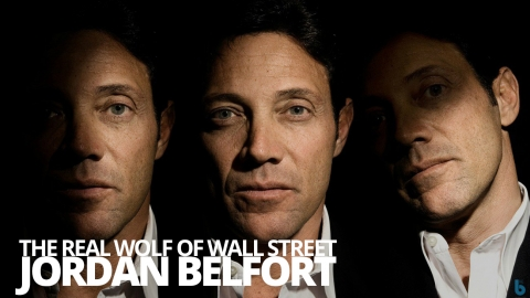 The real Wolf of Wall Street – Jordan Belfort