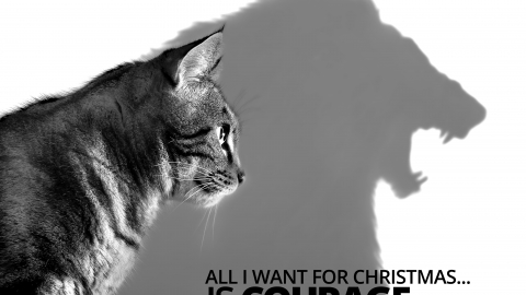 All I want for Christmas… is courage by Jessica Huie