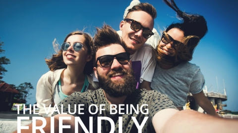 The Value of Being Friendly by Todd Patkin