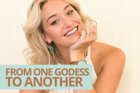 From one goddess to another by Mel Wells