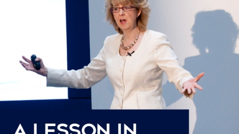 A Lesson In Catching Affluenza by Gill Fielding