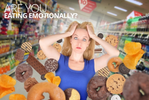 Are you eating emotionally? by Lisa Turner