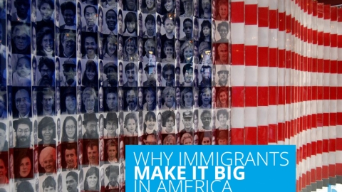 Why immigrants make it big in America by Ron G. Holland