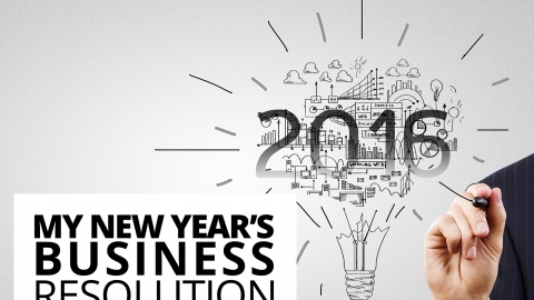 My New Year's business resolution… by The Best You