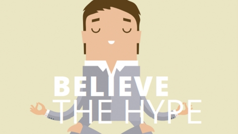 Believe the hype by Sharon Hadley