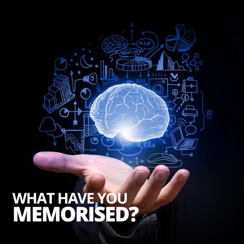 What have you memorised? By Jim Aitkins