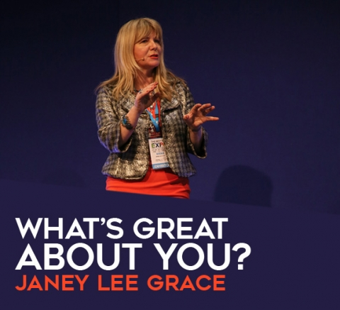 What's great about you? by Janey Lee Grace