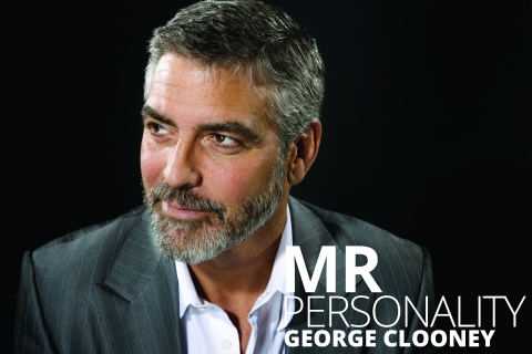Mr Personality: a George Clooney profile