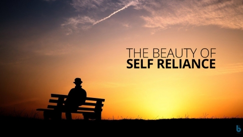 The Beauty of Self Reliance by Dennis Do