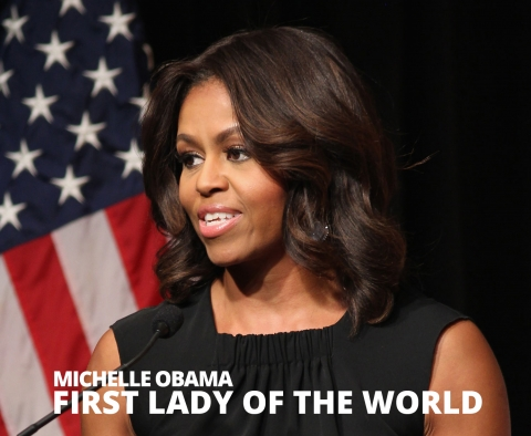 First lady of the world by The Best You