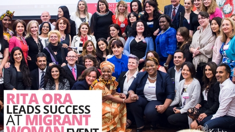 Rita Ora leads success at Migrant Woman event by The Best You