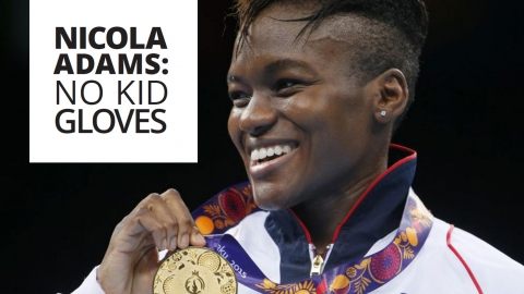 Nicola Adams: No kid gloves