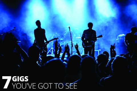 7 Gigs You've Got To See by The Best You