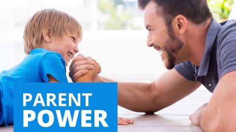 Parent power by Sue Atkins
