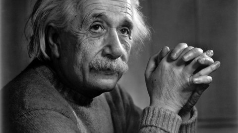 Einstein's Theory of Religion by Erin Falconer