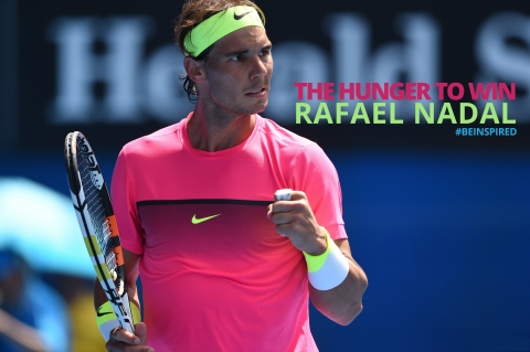 The Hunger to Win: Profile of Rafael Nadal