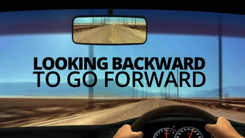 Looking Backward To Go Forward by Matt Wingett