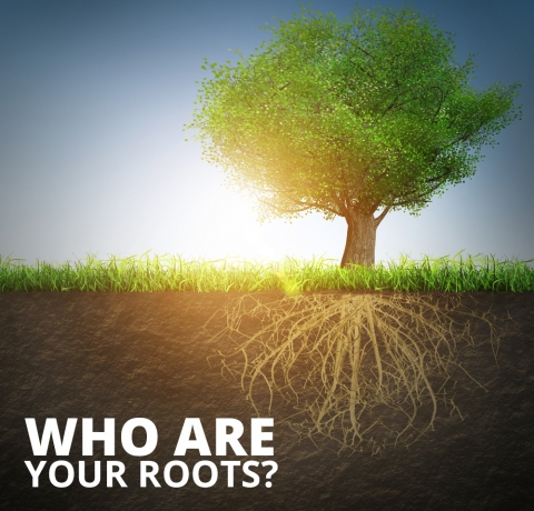 Who are your roots? by Lindsay Curtis