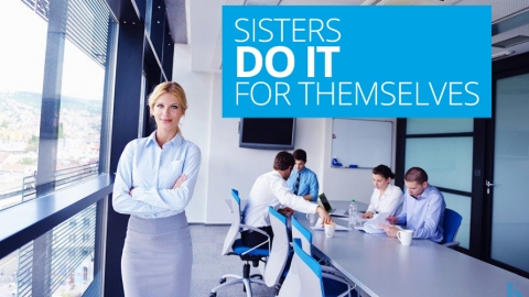 Sisters do it  for themselves by Lynn Kitchen