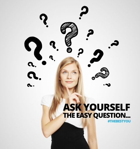 Ask yourself the easy question… by Peter Thomson