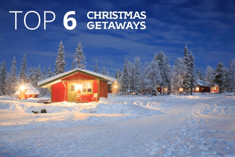 Top 6 Christmas getaways