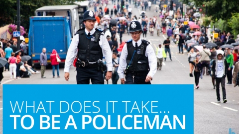 What does it take to be a policeman?