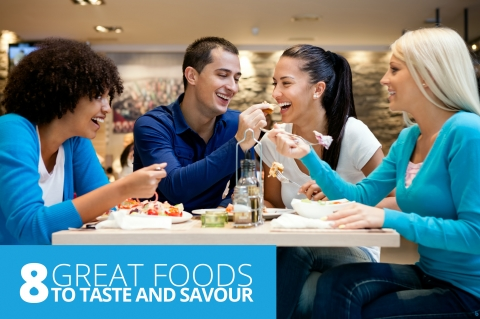 8 Great Foods To Taste And Savour by David Saunderson